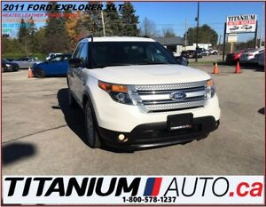 2011 Ford Explorer XLT+GPS+Camera & Sensors+Leather Heated Seats