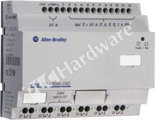 Allen Bradley 1760-L18BWB-EXND /B Pico Controller 18 I/O Expandable No Display
