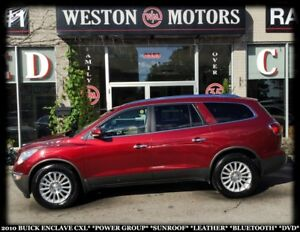 2010 Buick Enclave CXL*POWER GROUP*SUNROOF*LEATHER*BLUETOOTH*DVD