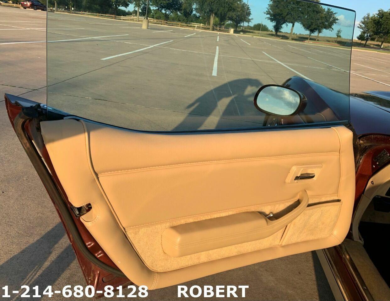 1978 Burgundy Chevrolet Corvette   | C3 Corvette Photo 9