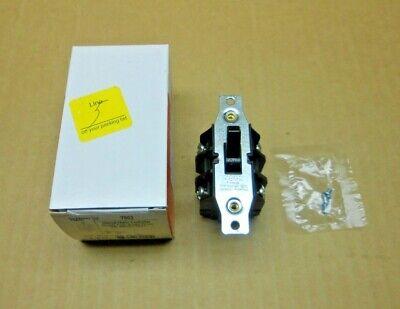 1 Nib Pass Seymour 7802 Manual Motor Controller 30a 30amp 600 Vac 10hp