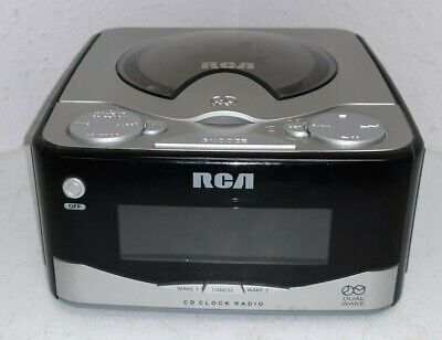 RCA RP7801A Digital Alarm Clock AM/FM Radio CD Player - WORKS
