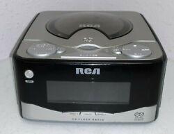 RCA RP7801A Digital Alarm Clock AM/FM Radio CD Player - WORKS