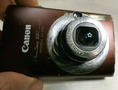 Canon Powershot Sd1100 Digital Elph (Canon Powershot Elph Sd1100 Is Ixus 80 8mp Digitalkamera - As Teil Reparatur)