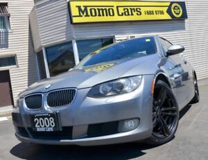 2008 BMW 3 Series NAV! Sunroof! Leather! ONLY $188/bi-weekly!