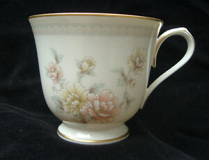 Noritake Ivory China Cervantes 7261 Footed Cup Ivory Body