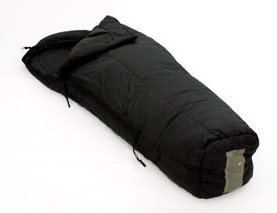 US Military Genuine Issue Intermediate Cold weather Sleeping Bag, Black, Used Cold Weather Sleeping Bag