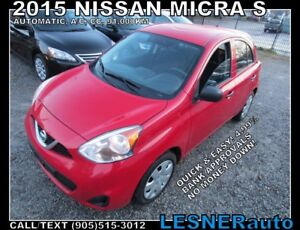 2015 Nissan Micra S