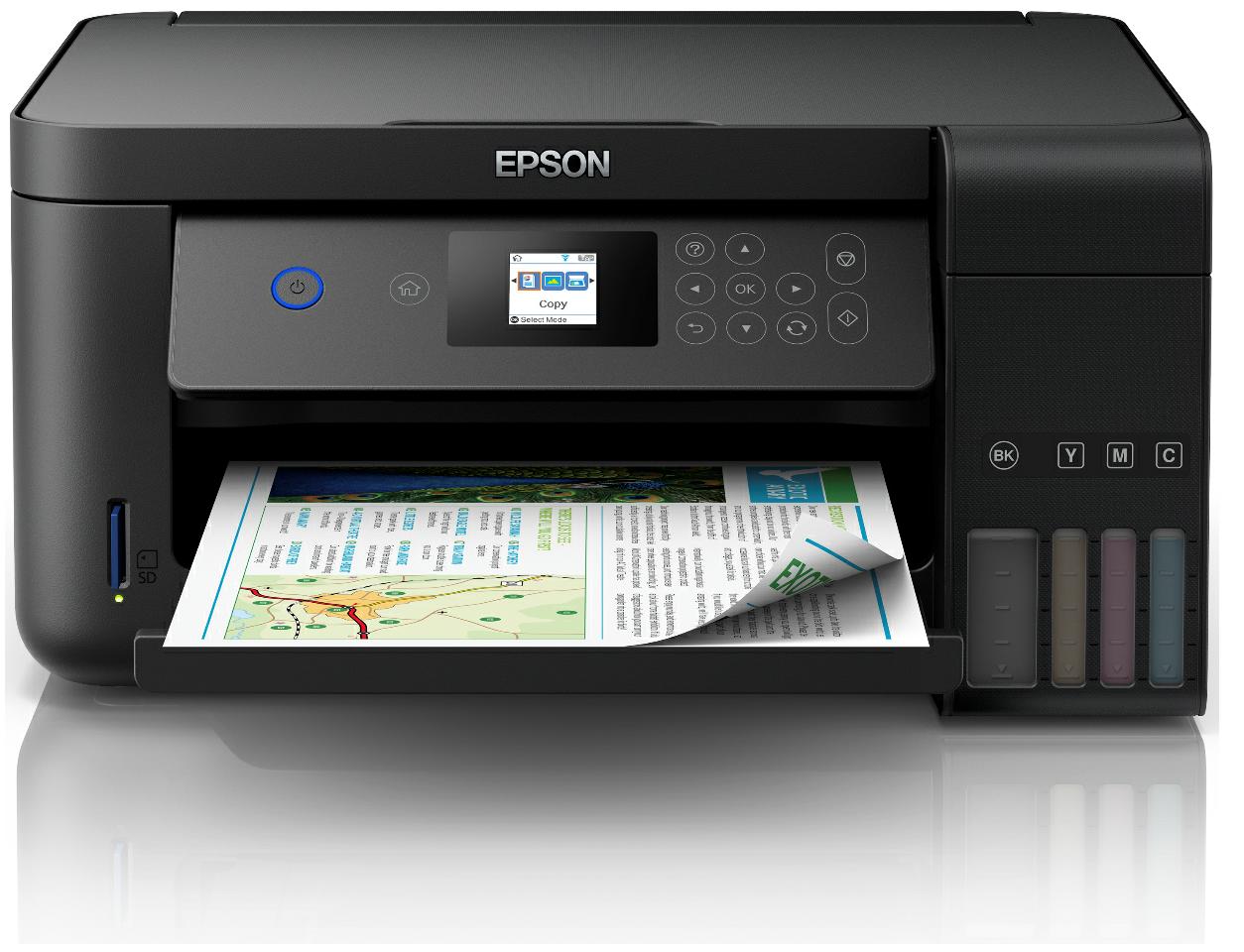 Epson EcoTank ET-2750 3in1-Tintenstrahl Drucker WLAN, Duplex, 4x original Tinte