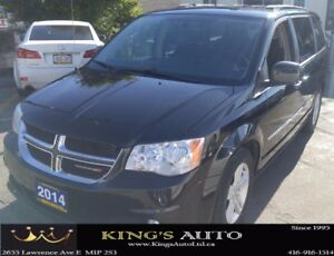 2014 Dodge Grand Caravan CREW, 7 PASSENGER, HEATED SEATS, BACKUP