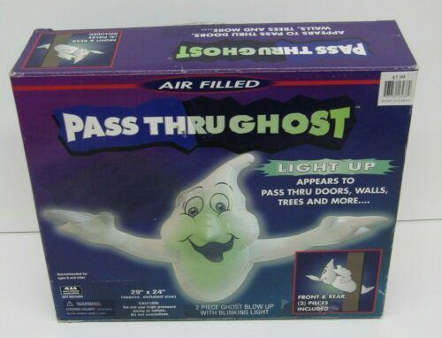 Inflatable Pass Thru Ghost Halloween Decoration