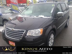 2010 Chrysler Town & Country TOURING, 7 PASS, STOW N GO SEATING,