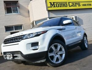 2012 Land Rover Range Rover Evoque Premium! Panormic Sunroof! On