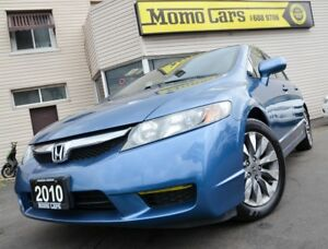 2010 Honda Civic EX-L!HeatedLeatherSeats!Sunroof!Only$76/Bi-week