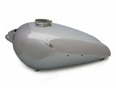 BSA M20 Civilian Model Aluminium Petrol Fuel Gas Tank With Filler Cap Lid CAD