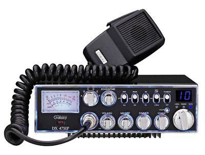 Galaxy DX-47HP 10 Meter Amateur Ham Mobile Radio AM FM PA Dual Mosfet Finals ()