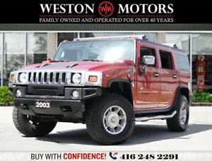 2003 Hummer H2 4X4*LEATHER*SUNROOF*LOW KM!!*
