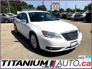 2014 Chrysler 200 Limited-Camera-Sunroof-Leather Seats-New Tires
