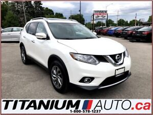 2014 Nissan Rogue SL+AWD+Camera+Pano Roof+Leather Heated Power S