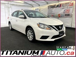 2016 Nissan Sentra SV-Camera-GPS-Blind Spot-Sunroof-Heated Seats