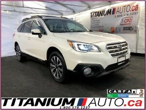 2015 Subaru Outback Limited-AWD-Camera-GPS-Eyesight-Sunroof-Leat