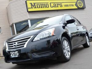 2015 Nissan Sentra SV! Backup Cam! Heatedseats! Only $103/Bi-wee
