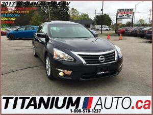 2013 Nissan Altima SV+Camera+Sunroof+Remote Start+Heated Power S