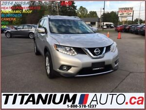 2014 Nissan Rogue SV+AWD+Camera+Pano Roof+Heated Power Seats+Fog