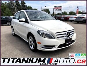 2014 Mercedes-Benz B-Class GPS+Camera+Blind Spot+Pano Roof+F & R