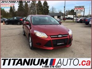 2014 Ford Focus SE+BlueTooth+Heated Seats+Cruise Control+New Tir