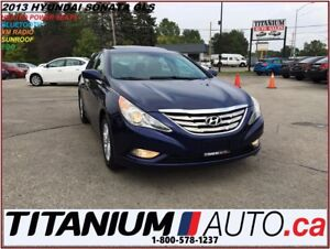 2013 Hyundai Sonata GLS+Sunroof+Heated Power Seats+BlueTooth+XM