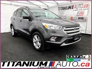 2018 Ford Escape SE+4X4+Pano Roof+Camera+Apple Play+Heated Seats