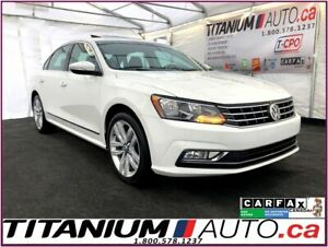 2016 Volkswagen Passat Highline-Camera-GPS-Blind Spot-Sunroof-Le