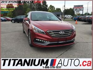 2015 Hyundai Sonata Sport+Pano Roof+Camera+Leather+Blind Spot Mo