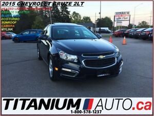 2015 Chevrolet Cruze 2LT+Leather+Camera+Sunroof+Remote Start+Pus