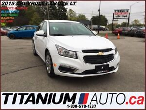 2015 Chevrolet Cruze LT+Camera+My Link+Remote Start+BlueTooth+XM