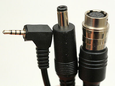 """2/3"""" B4 lens Y-cable VRTZoom Power 12v DC to 12 Pin Hirose Cable GH2 GH3 GH4 GH5"""