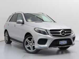 2016 Mercedes-Benz GLE250d 4Matic 166 MY17 Silver 9 Speed Automatic Wagon