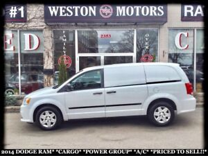 2014 Dodge Ram Van CARGO*POWER GROUP*A/C*PRICED TO SELL!!*