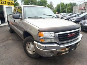 2003 GMC Sierra 1500 SLE / 4x4/ EXTENDED CAB/ RUNS WELL