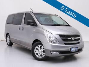 2014 Hyundai iMAX TQ MY13 Silver 4 Speed Automatic Wagon