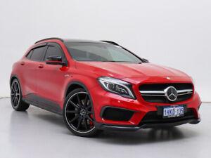 2015 Mercedes-Benz GLA45 AMG 4Matic X156 MY15 Red 7 Speed Auto Dual Clutch Wagon