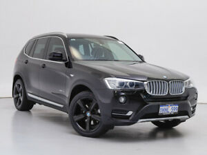 2016 BMW X3 F25 MY17 xDrive 20I Black 8 Speed Automatic Wagon Jandakot Cockburn Area Preview