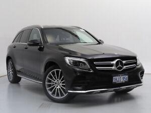 2018 Mercedes-Benz GLC250 253 MY18 Black 9 Speed Automatic Wagon