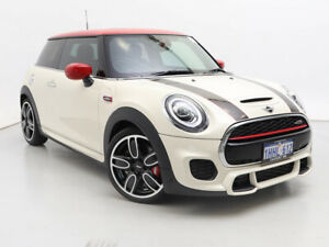 2019 Mini 3D Hatch F56 MY19 John Cooper Works White 8 Speed Automatic Steptronic Hatchback Jandakot Cockburn Area Preview