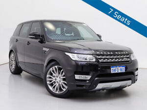 2015 Land Rover Range Rover LW MY15.5 Sport 3.0 SDV6 Autobiography Black 8 Speed Automatic Wagon