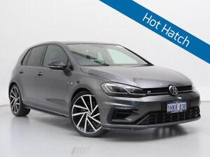 2018 Volkswagen Golf AU MY18 R Grid Edition Grey 7 Speed Auto Direct Shift Wagon