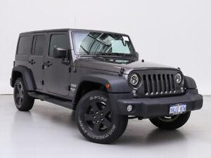 2014 Jeep Wrangler Unlimited JK MY13 Sport (4x4) Grey 6 Speed Manual Softtop