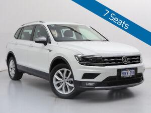 2019 Volkswagen Tiguan 5NA MY19 Allspace 132 TSI Comfortline White 7 Speed Auto Direct Shift Wagon