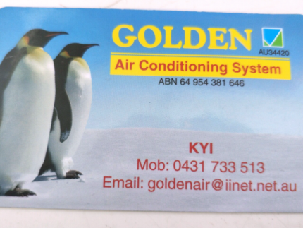 Golden Air Conditioning System